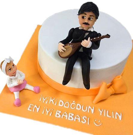 Babalar Günü Pastası kategorisi için resim