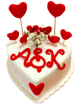 Sevgililer Günü Pastası #2 resmi