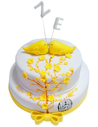 Sevgililer Günü Pastası #3 resmi