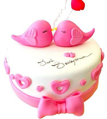 Sevgililer Günü Pastası #5 resmi