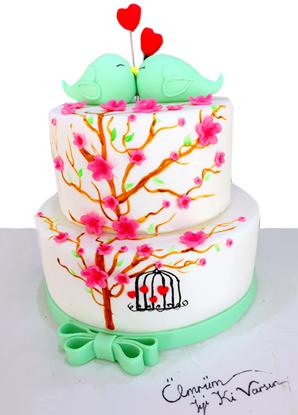 Sevgililer Günü Pastası #6 resmi