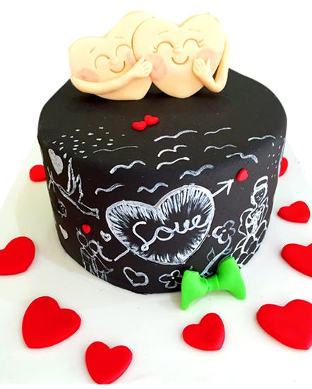 Sevgililer Günü Pastası #8 resmi
