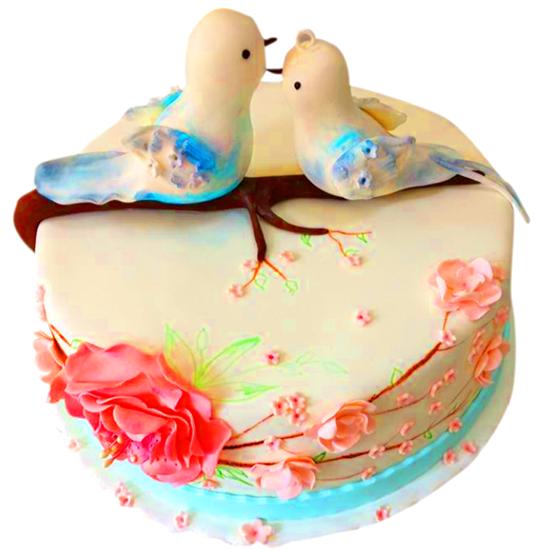 Sevgililer Günü Pastası #13 resmi