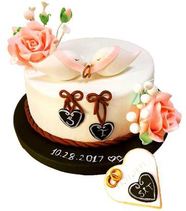 Nişan - Düğün Pastası #2 resmi