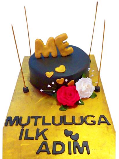 Nişan - Düğün Pastası #5 resmi