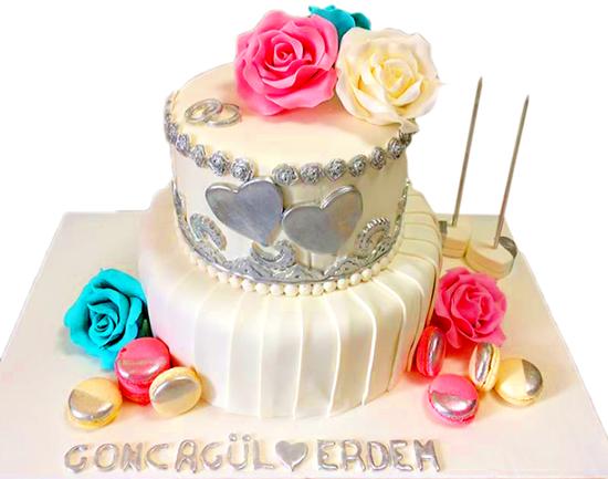 Nişan - Düğün Pastası #14 resmi