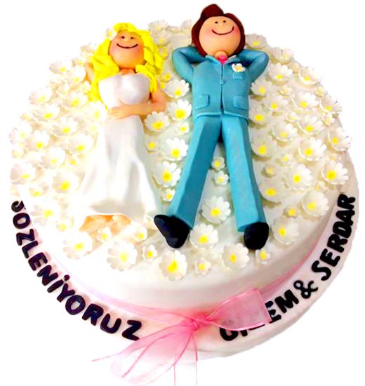 Nişan - Düğün Pastası #15 resmi