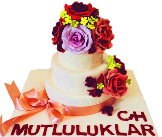 Nişan - Düğün Pastası #41 resmi