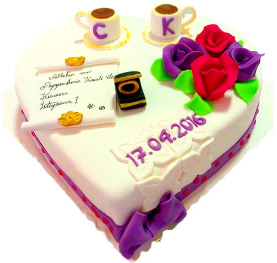 Nişan - Düğün Pastası #57 resmi