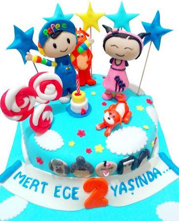 Doğum Günü Pastaları kategorisi için resim