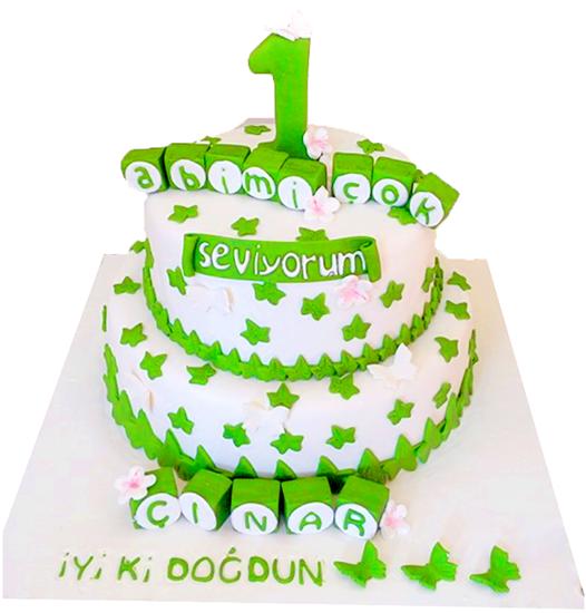 İlk Yaş Pastası #10 resmi