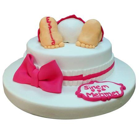 Baby Shower Pastası kategorisi için resim